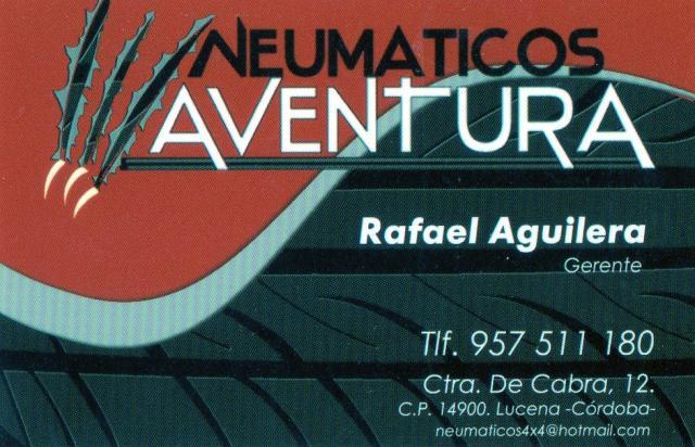 Imagen de NEUMÁTICOS AVENTURA