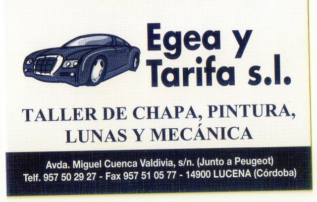 Imagen de Egea y Tarifa S.L.
