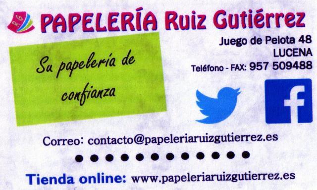 Imagen de PAPELERÍA Ruiz Gutiérrez