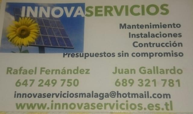 Imagen de Reformas y mantenimiento Innovaservicios