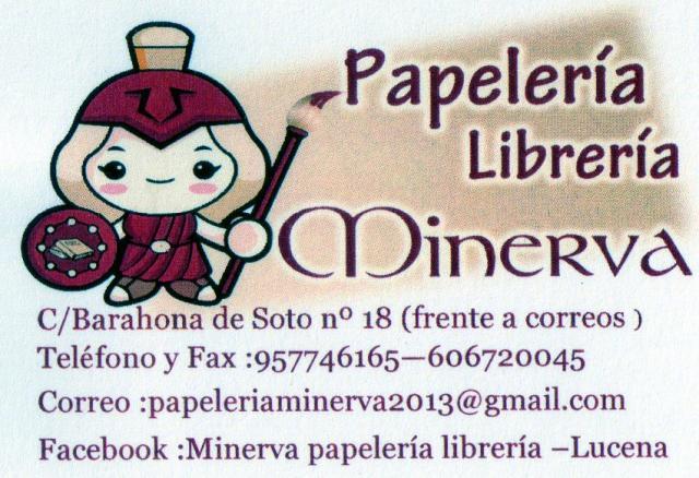 Imagen de PAPELERÍA , LIBRERÍA, MINERVA