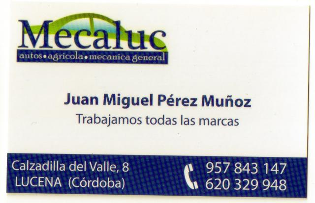 Imagen de Mecaluc, Mecánica General