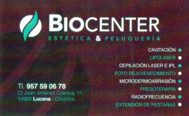 Imagen de BIOCENTER Estética & Peluquería