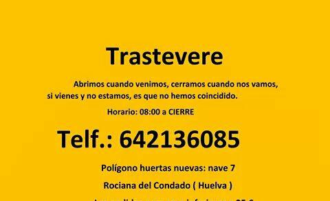 Imagen de CAFETERÍA TRASTEVERE