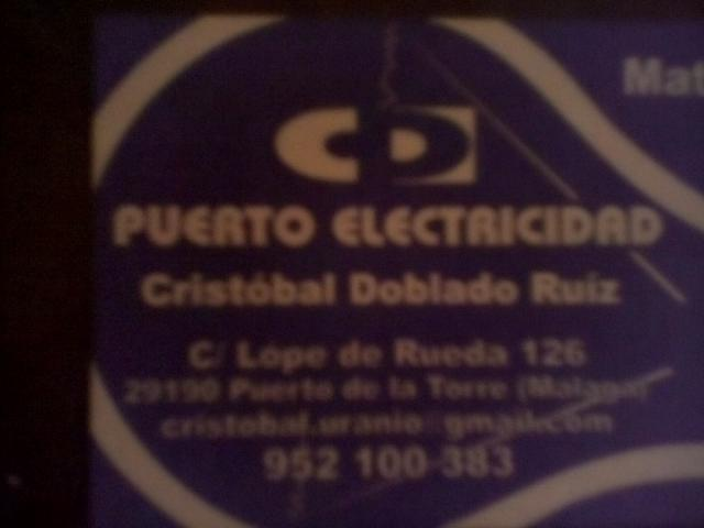 Imagen de Puerto Electricidad Cristóbal Doblado Ruiz