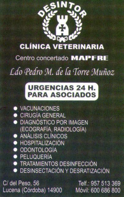 Imagen de DESINTOR  Clínica Veterinaria