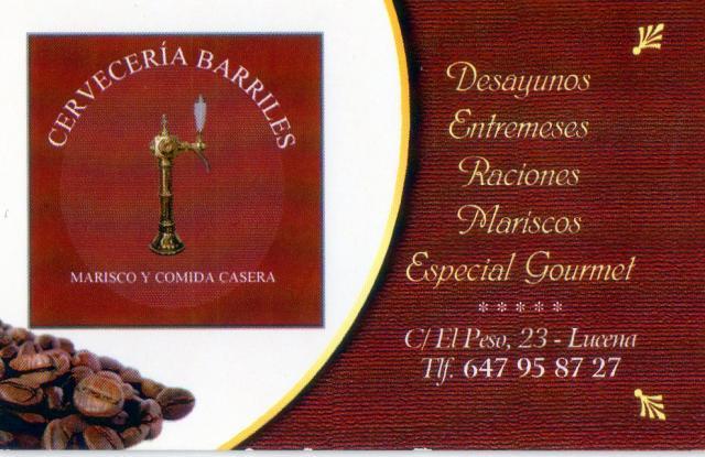 Imagen de CERVECERÍA BARRILES