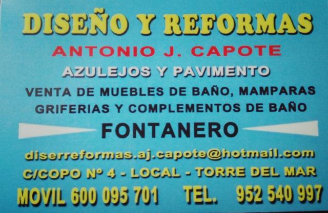 Imagen de DISEÑO Y REFORMAS ANTONIO J.CAPOTE