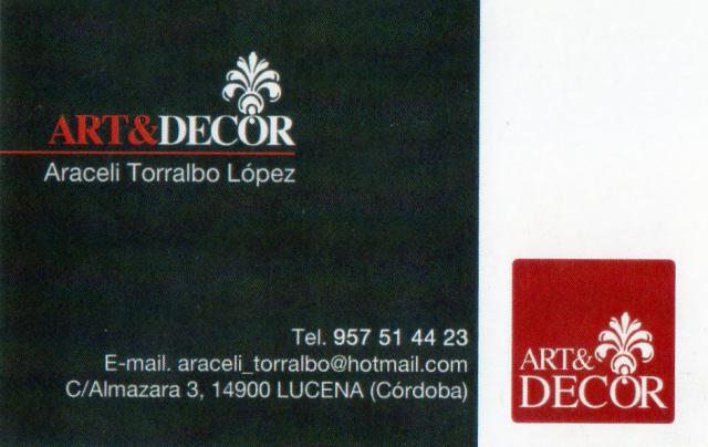Imagen de ART&DECOR  Araceli Torralbo