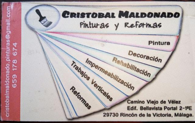 Imagen de CRISTOBAL MALDONADO Pinturas y Reformas