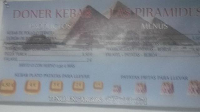 Imagen de KEBAB  Las Pirámides Lucena