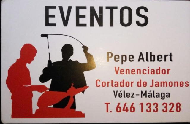 Imagen de EVENTOS Pepe Albert