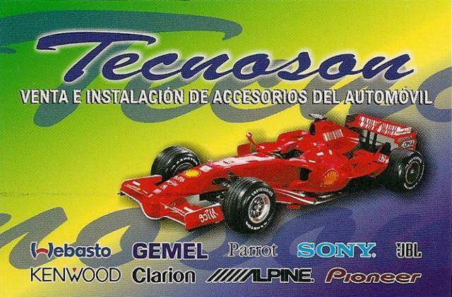 Imagen de TECNOSON Malaga Accesorios del Automovil