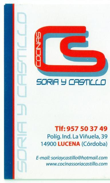 Imagen de COCINAS SORIA Y CASTILLO