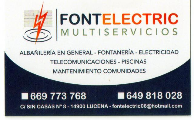 Imagen de FONTELECTRIC-MULTISERVICIOS