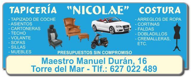 Imagen de TAPICERÍA Y COSTURA NICOLAE
