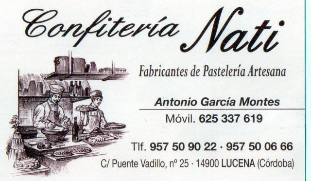 Imagen de CONFITERÍA  NATI S.L.
