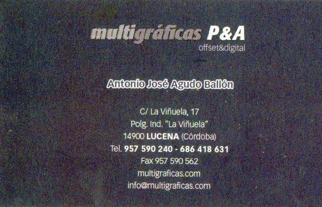 Imagen de Multigráficas P&A, Offset&digital