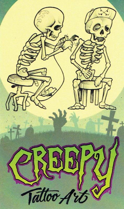 Imagen de Creepy Art Tattoo