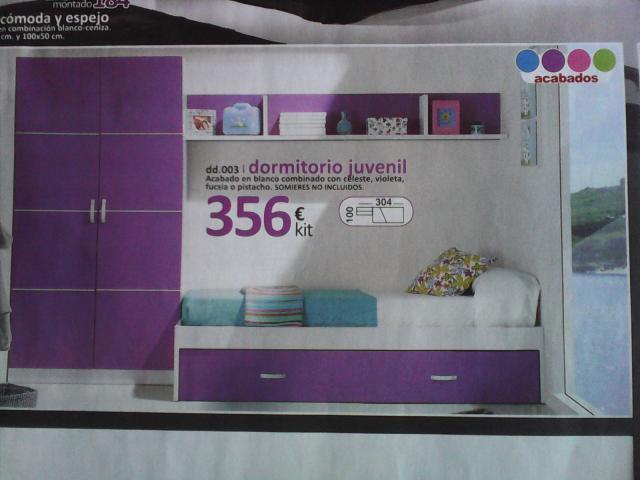 Dormitorio juvenil barato en m laga agrupae - Dormitorios juveniles baratos merkamueble ...