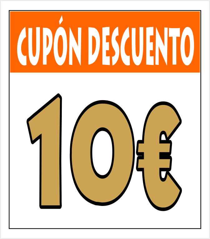 Cupón 10 euros