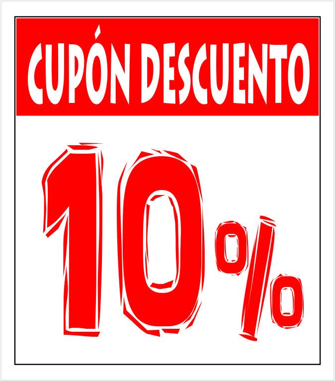 Cupón 10 porciento