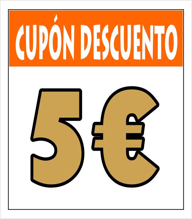 Cupón 5 euros